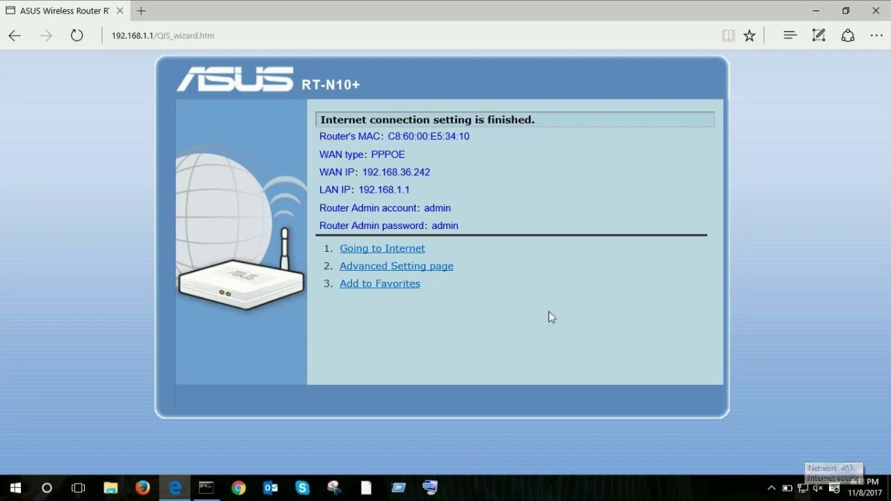 Обновление прошивки, настройка Интернет, Wi-Fi сети на ASUS RT-N12 .