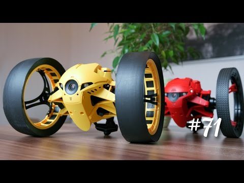 parrot jumping race night drone minidrone drohne test. Black Bedroom Furniture Sets. Home Design Ideas