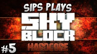Hardcore Skyblock - Part 5 - Rip in Peace