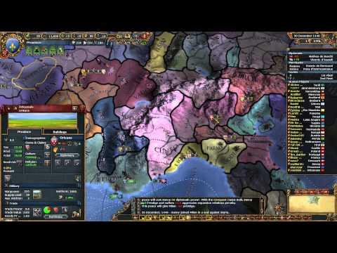A Bumpy Start [1] Provence MP w/Fans Warring States Mod Europa Universalis 4