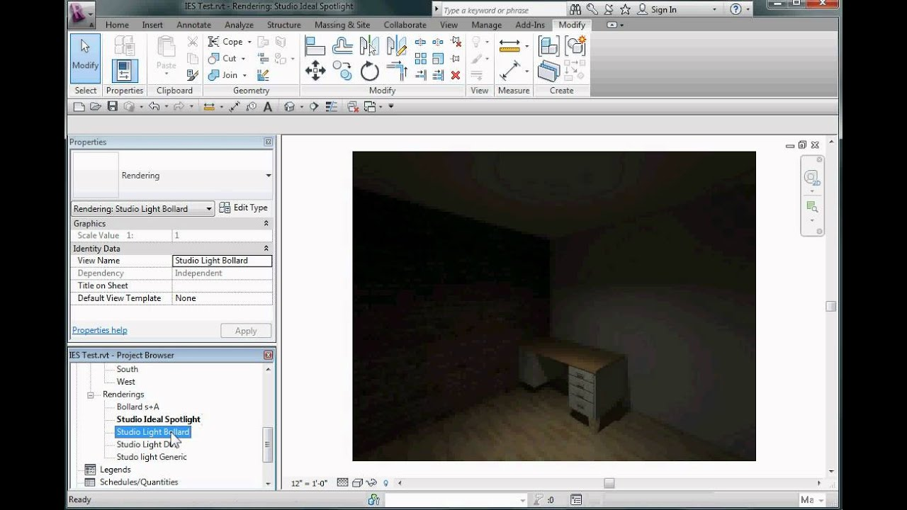 Revit Lighting and IES File Use Overview