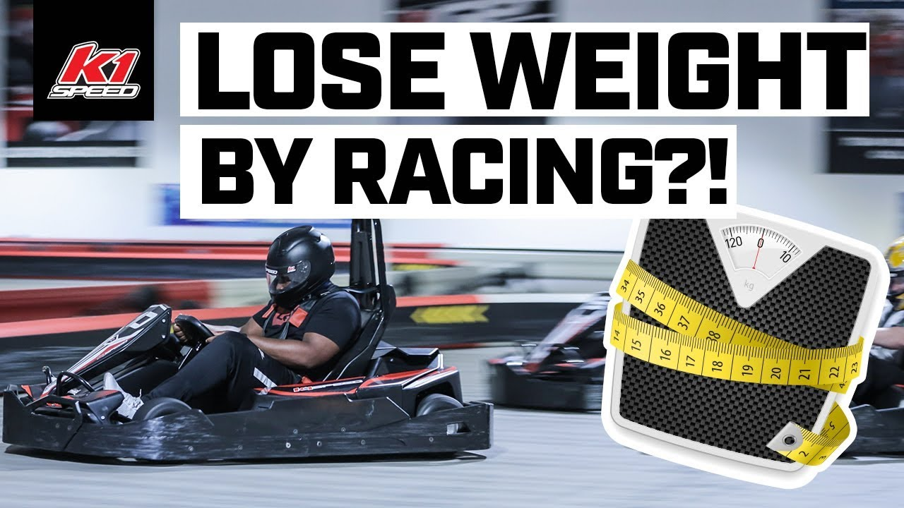 Lose Weight by Racing?! Introducing the K1 Speed Go-Kart Diet!
