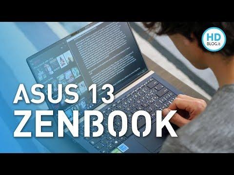 RECENSIONE ASUS ZenBook 13 (UX333) con NumberPad