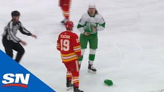 Matthew Tkachuk Gets Under The Maple Leafs' Skin | NHL Fights Of The Week