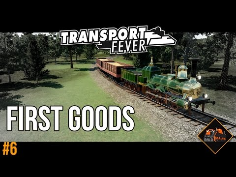 Risky first goods line | Transport Fever The Alps Gameplay #6
