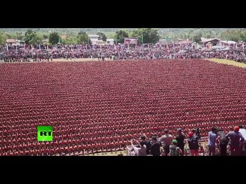 'Dance of Thousand Hands': 10,001 Indonesians break Saman dance record, wow audience