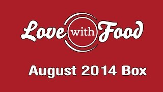 Love With Food - August 2014