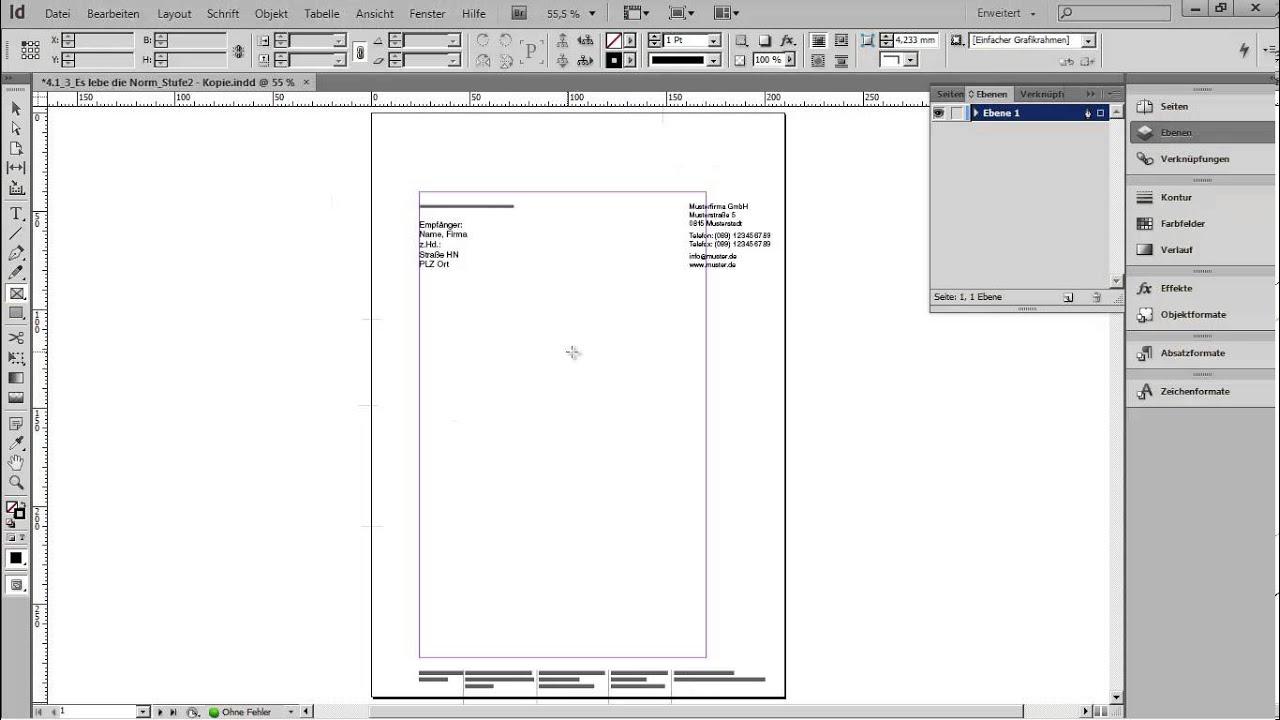 421 Briefbogen Vorbereitung überlegung Zur Gestaltung Youtube