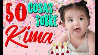 ¡50 COSAS QUE NO SABÍAS SOBRE KIMA SOFÍA PANTOJA LOAIZA! - Especial por su cumple #1 :D