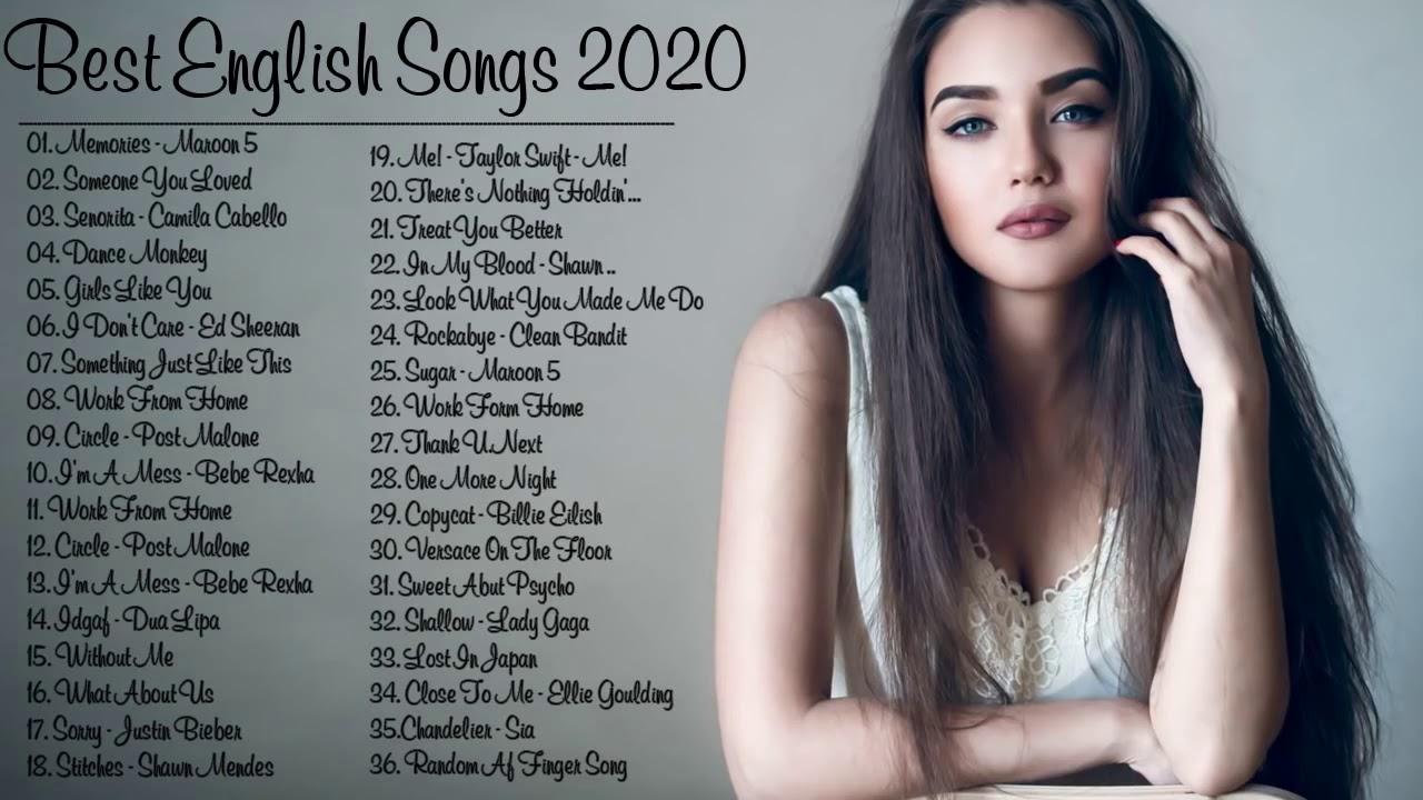 2020西洋流行歌曲    音樂排行榜2020 + 2020超好聽中文 ♪英文歌曲 (精心挑選) %2020全球最火的英文歌曲有哪些 ♪ ...
