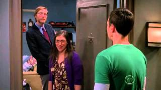 Big Bang Theory - Amy Sheldon Make Up And Kiss