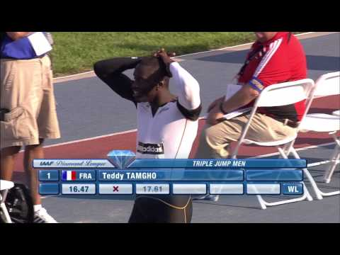 Top Moments in adidas Grand Prix History - Teddy Tamgho 2010
