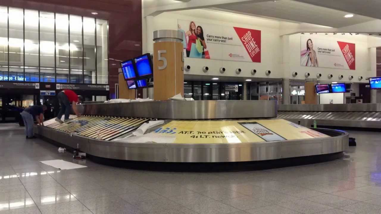 how to find baggage claim