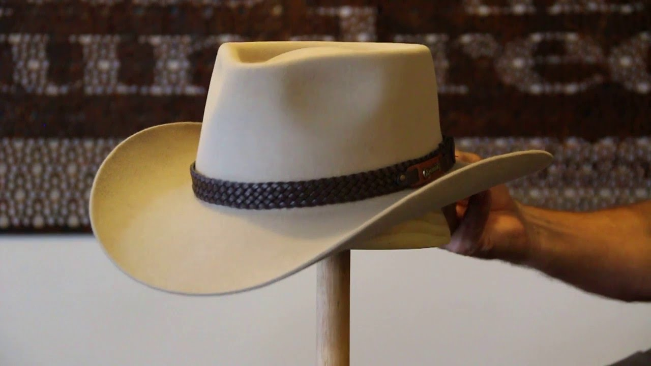 d2878c01877 Akubra Snowy River Sand Hat Review- Hats By The Hundred - YouTube