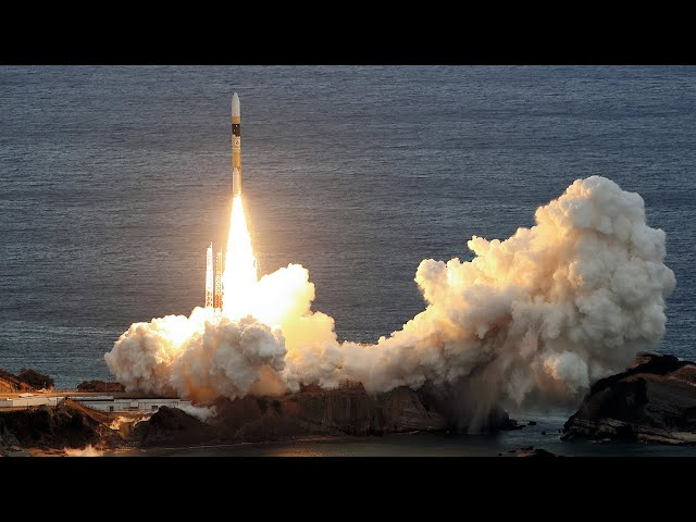 H2Aロケット打ち上げ成功 光データ中継衛星を搭載