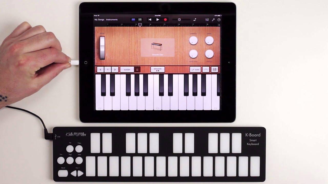 K-Board USB MIDI Mini Keyboard Controller for Synthesizer