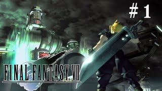 Let's Play Final Fantasy VII Ep. 1 - Not Just a Reactor!