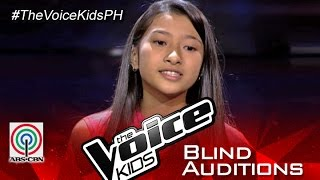 "The Voice Kids Philippines 2015 Blind Audition: ""Stay With Me"""