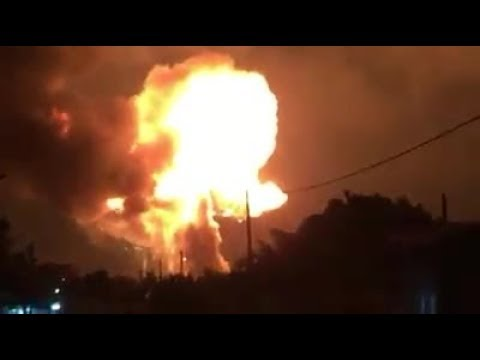 WATCH!! MASSIVE GAS EXPLOSION AT ATOMIC JUNCTION IN GHANA!!! 😨😨