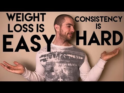 Fat Loss Is Easy; Consistency Is Hard