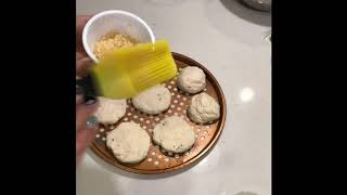 3SP 2 ingredient dough biscuits drop biscuits jalapeño garlic cheese ( weight watchers freestyle )