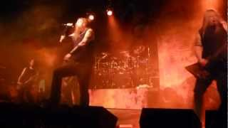 Amon Amarth - Sorrow Throughout the Nine Worlds - Chemnitz 05.08.2012