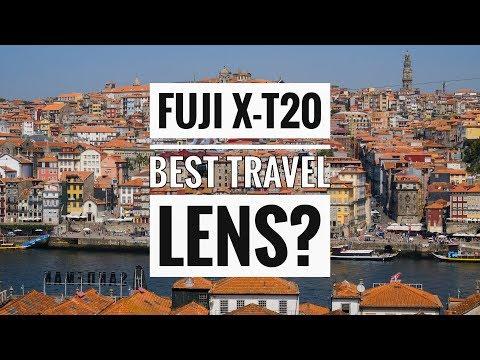 "Fujifilm X-T20 Best Travel lens?! ""Live"" From Porto, Portugal"