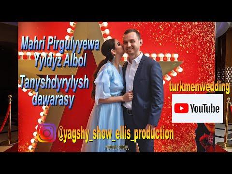Mahri Pirgulyyewa - Yyldyz Albom  (Tanyshdyrysh dawarasy) Video Rolik 2020  #mahripirgulyyewa