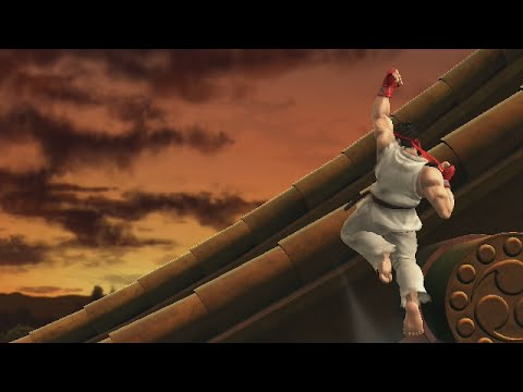 Super Smash Bros: Ryu True Shoryuken Shortcut