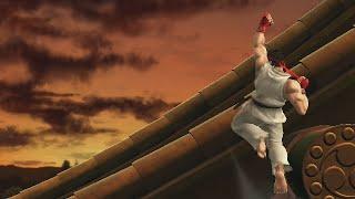 Super Smash Bros: Ryu True Shoryuken Shortcut