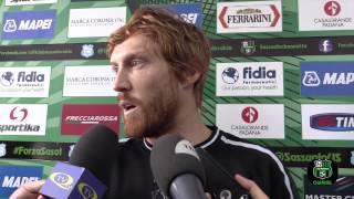 Davide Biondini in vista di Sassuolo-Lazio 27/02/15