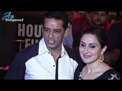 Anoop Soni With His Beautiful Wife at Prithvi Theater