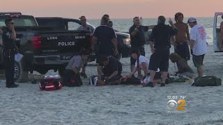 Beachgoers Recovering After Being Struck By Patrol Vehicle