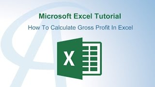 How To Calculate Gross Profit In Excel
