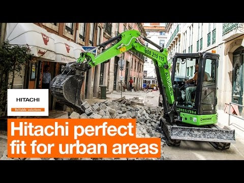 Hitachi is the perfect fit for Portugal's urban areas