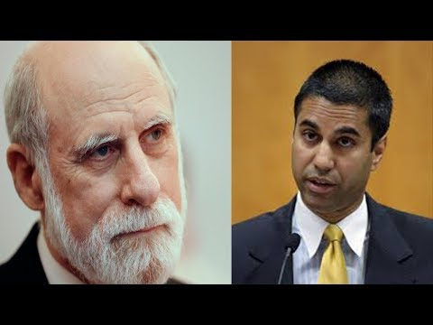 'Father Of The Internet' Slams AJit Pai's Net Neutrality Repeal