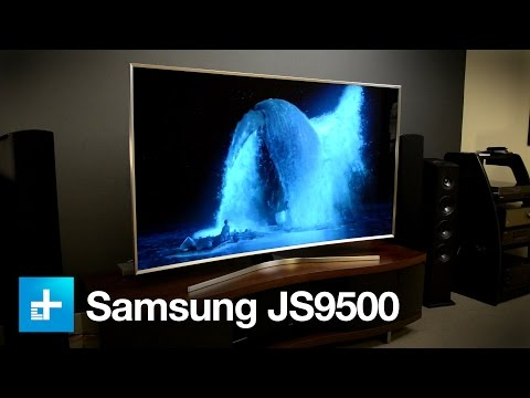 Samsung UE65JS9090 Curved SUHD TV - UNBOXING