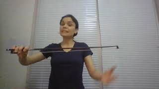 Violin with Aurora Del Rio Perez - Bow exercises for all violinists