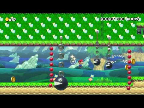 大砲の森 Cannon Woods by マヒマヒ 一SUPER MARIO MAKER一 No Commentary