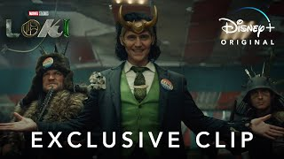Exclusive Clip | Loki | Disney+