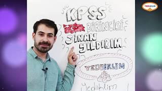 KPSS 2018 BİRİNCİSİ Başarısının Sırlarını Anlatıyor!