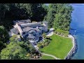 Breathtaking $20 Million Stone Mansion with a Lighthouse 5 Bedrooms 6 Bathrooms in Washington USA