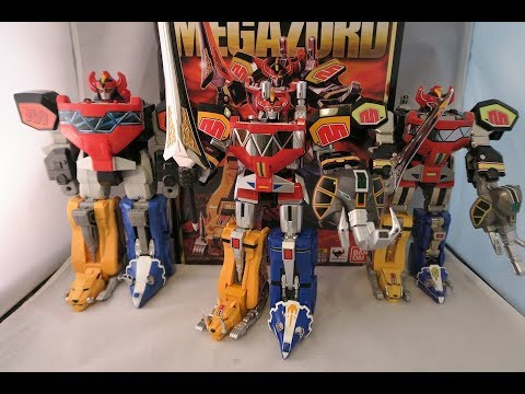 Bandai Tamashii Nations Soul of Chogokin Megazord Review & Comparison (Mighty Morphin Power Rangers)