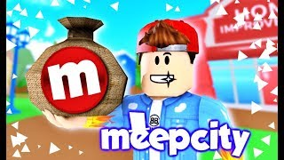 HOW TO GET 100,000 COINS IN MEEPCITY 💰 (Roblox)