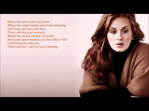 Adele -  Remedy -  Lyrics