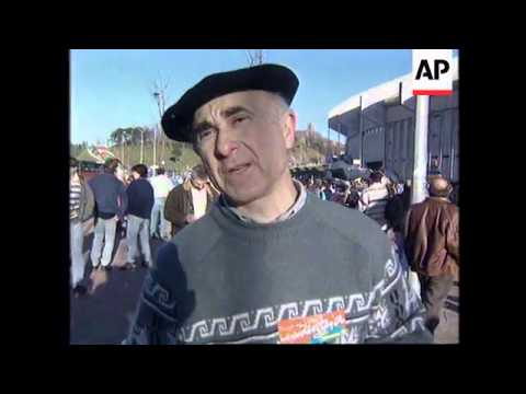 SPAIN: RALLY IN SUPPORT OF BASQUE SEPARATIST GROUP ETA