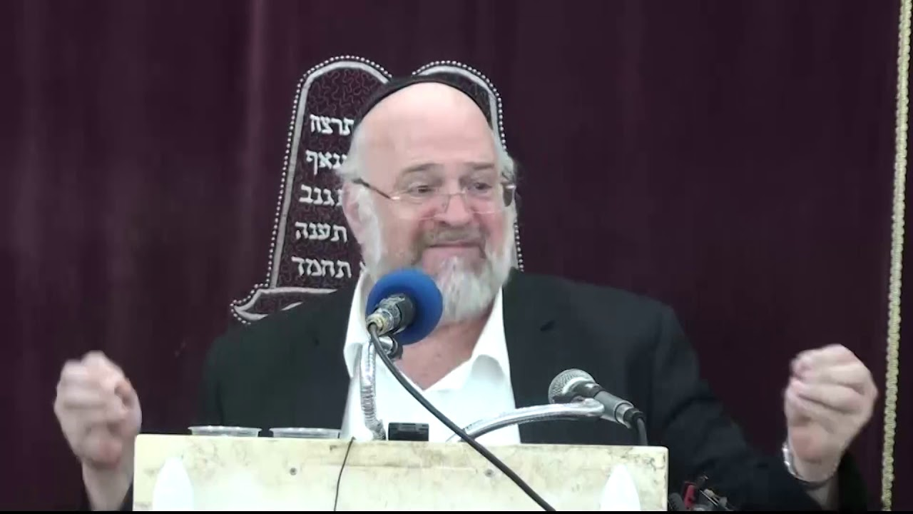 הרב ברוך רוזנבלום פרשת עקב Ekev התשע''ט