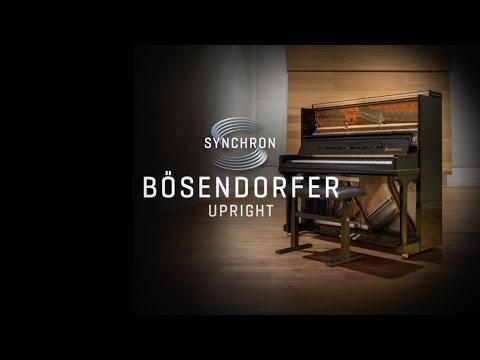 VSL Synchron Bosendörfer Upright, Screencast By Guy Bacos
