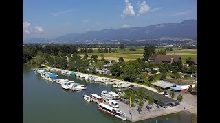 Touring with the Caravan and Motorhome Club: Camping Solothurn