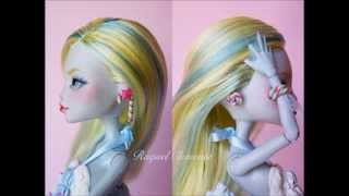 Custom Monster High Candy Lagoona Blue Doll Review